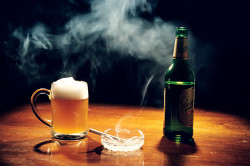 Алкоголь и курение - причины невроза сердца