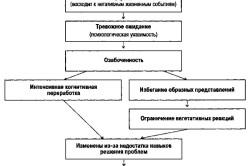 Общая модель тревожного расстройства