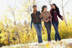 Прогулки на свежем воздухе перед экзаменом