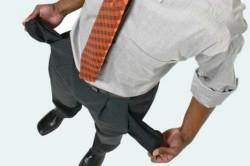 Финансовые проблемы - причина депрессии