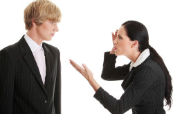 Конфликты на работе - причина тревожной депрессии