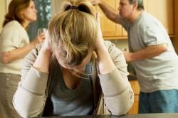 Ссоры при ребенке