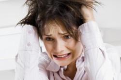 Сильный стресс - причина расстройства